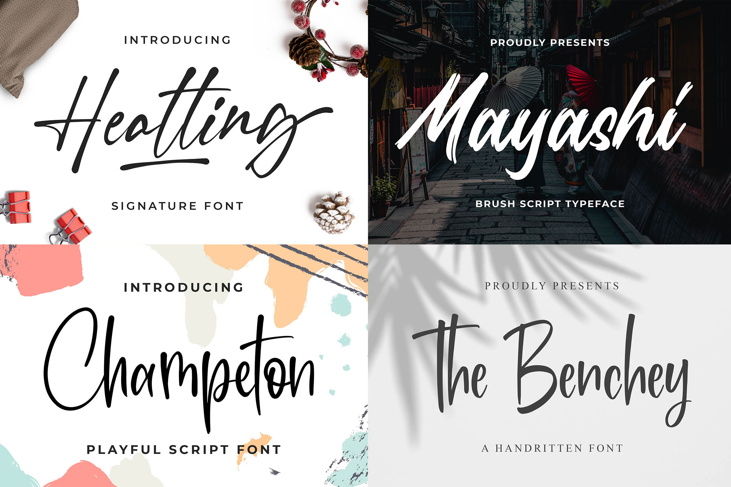 New Year Big Bundle - Crafting Fonts Collection example image 6