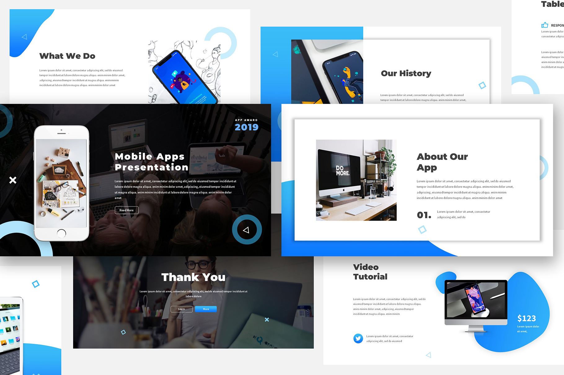 Mobile App Keynote Proposal example image 1