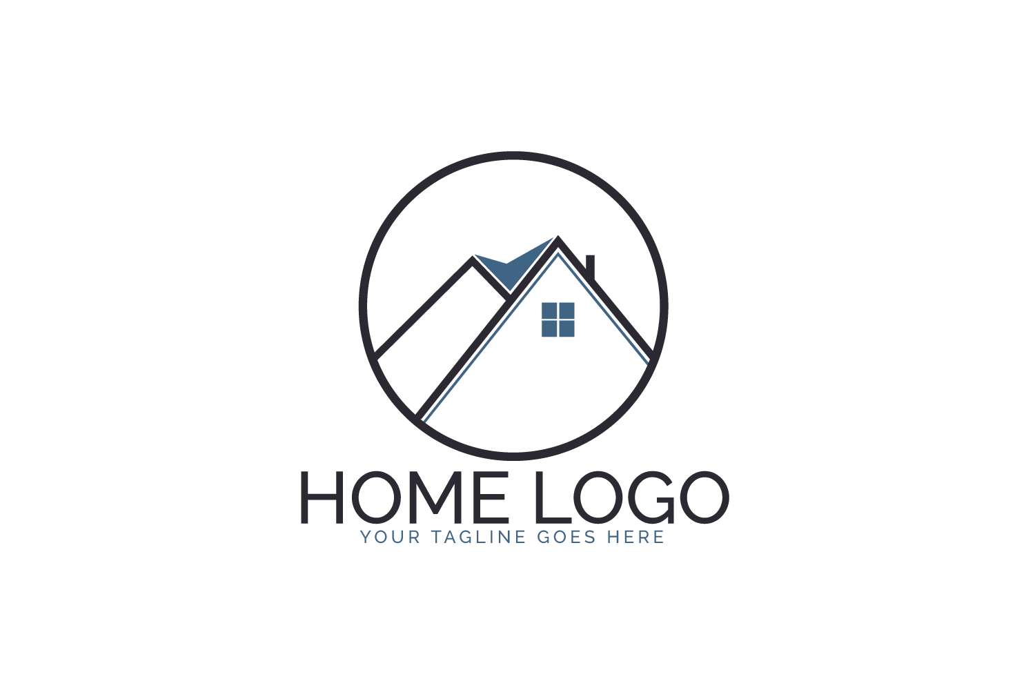 Home Logo Design. example image 2