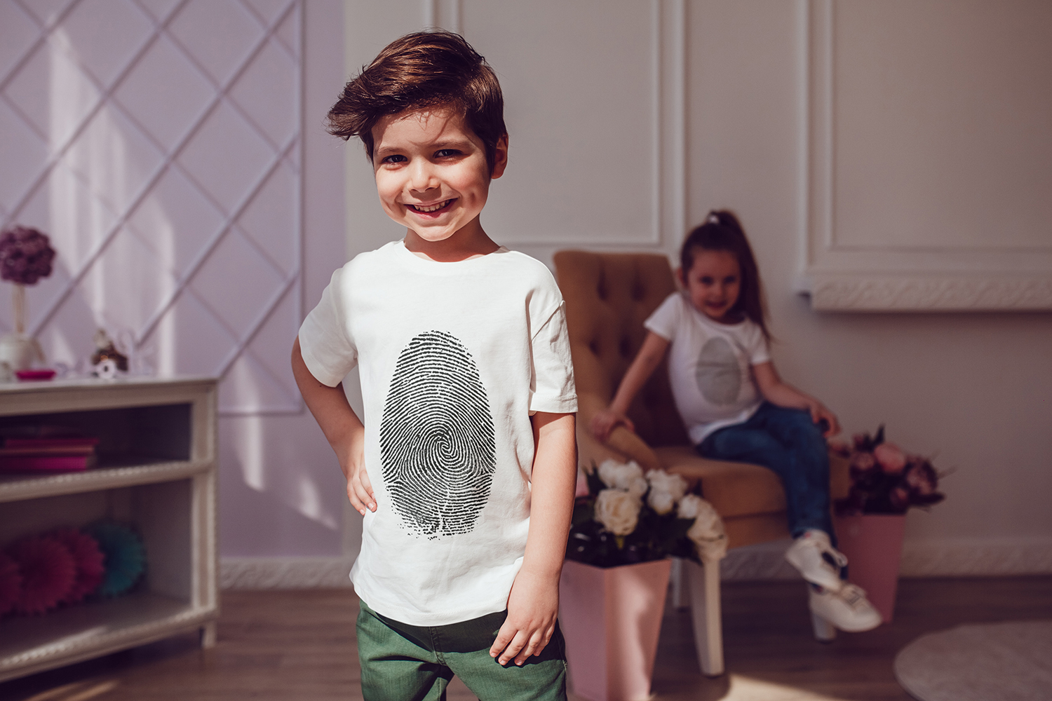 Kids T-Shirt Mock-Up Vol.3 2017 example image 8