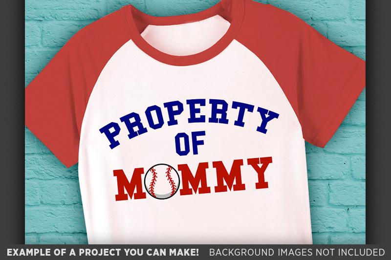 Baseball Shirt For Kids SVG - Baseball Shirt Designs - 1018 example image 3