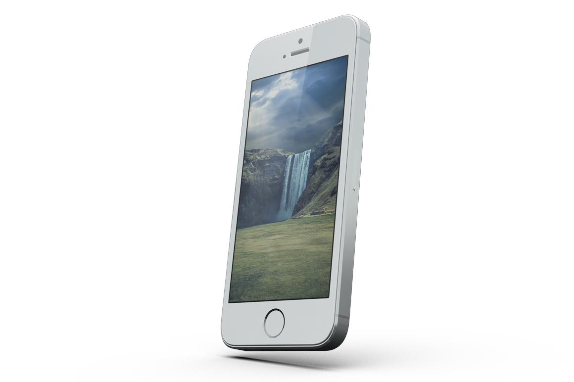 iPhone SE Mockup example image 4
