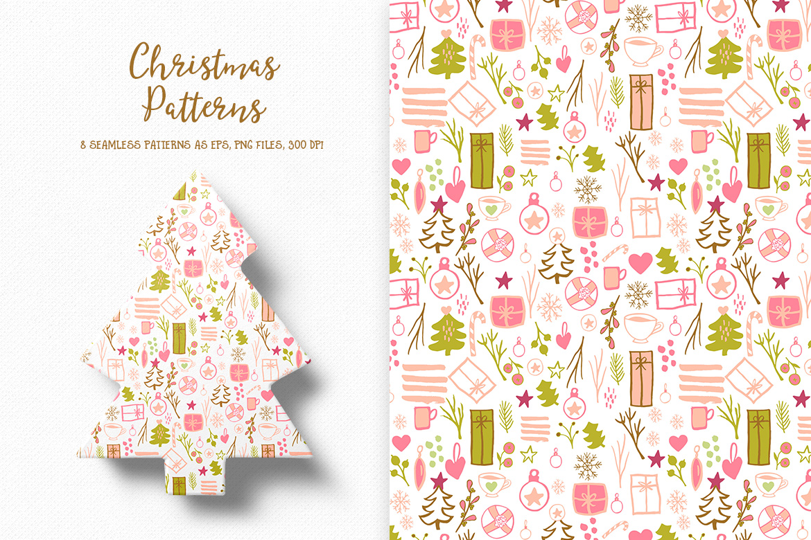 Christmas Pattern Collection example image 1