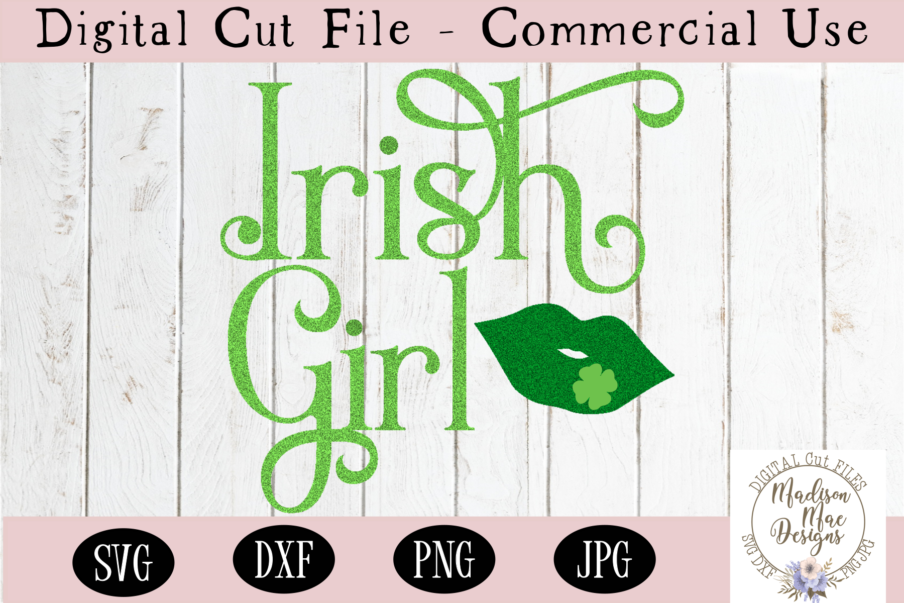 Irish Girl SVG, Saint Patrick's Day SVG example image 2