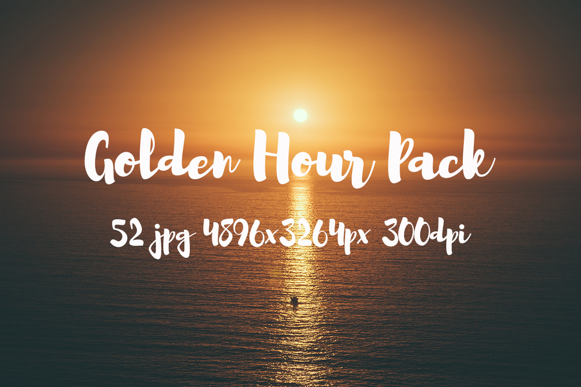 Golden hour Pack example image 28