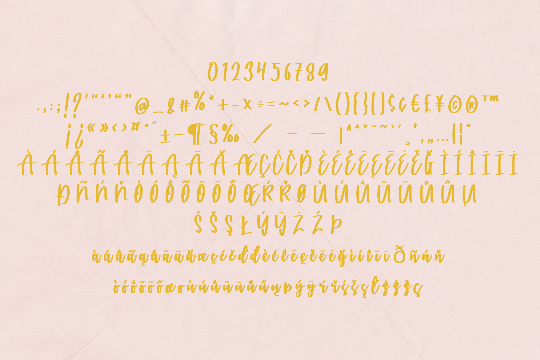 Catarina - a Handwritten Font example image 9
