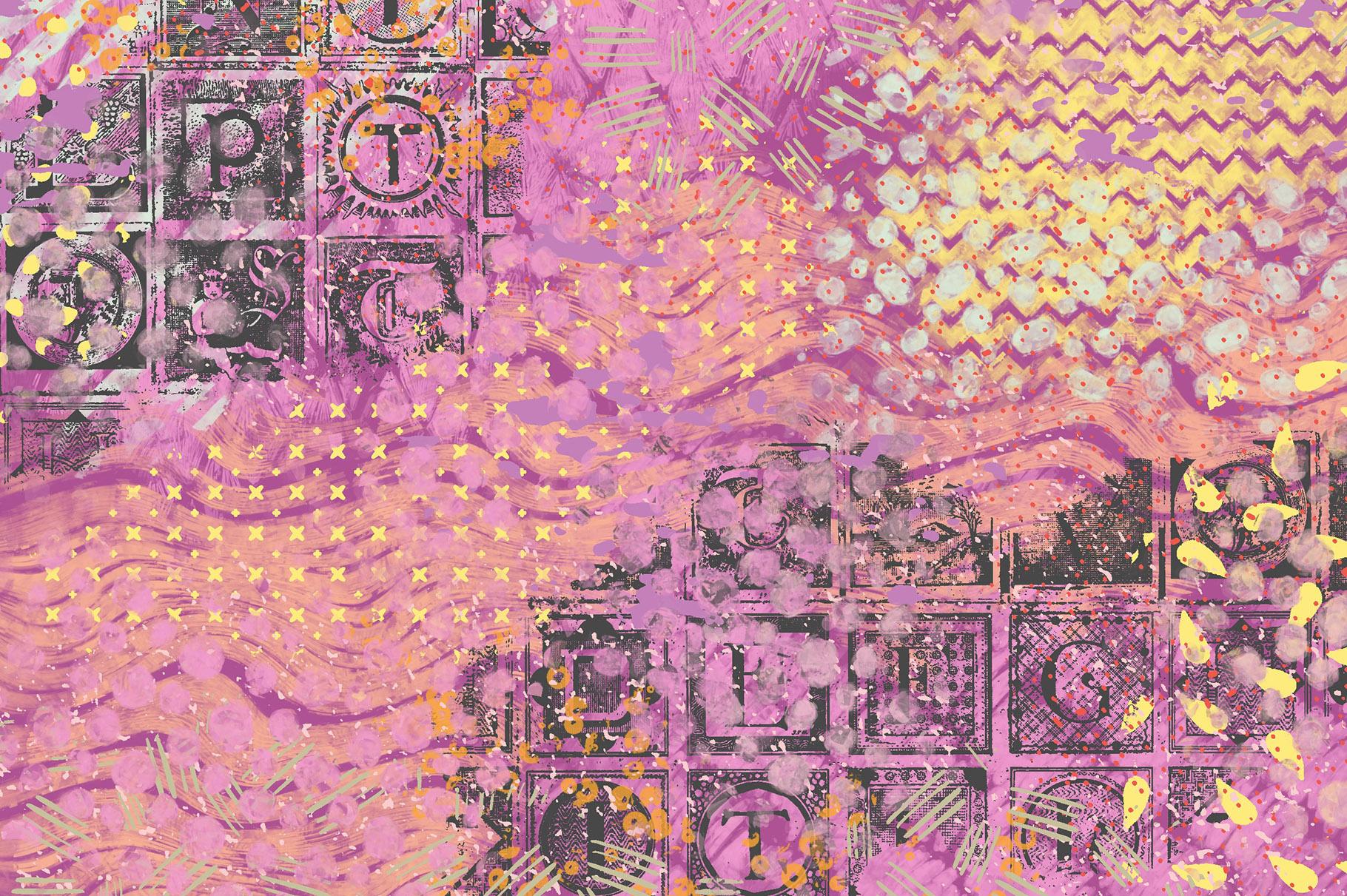 Procreate Background Brushes Set 2 example image 12