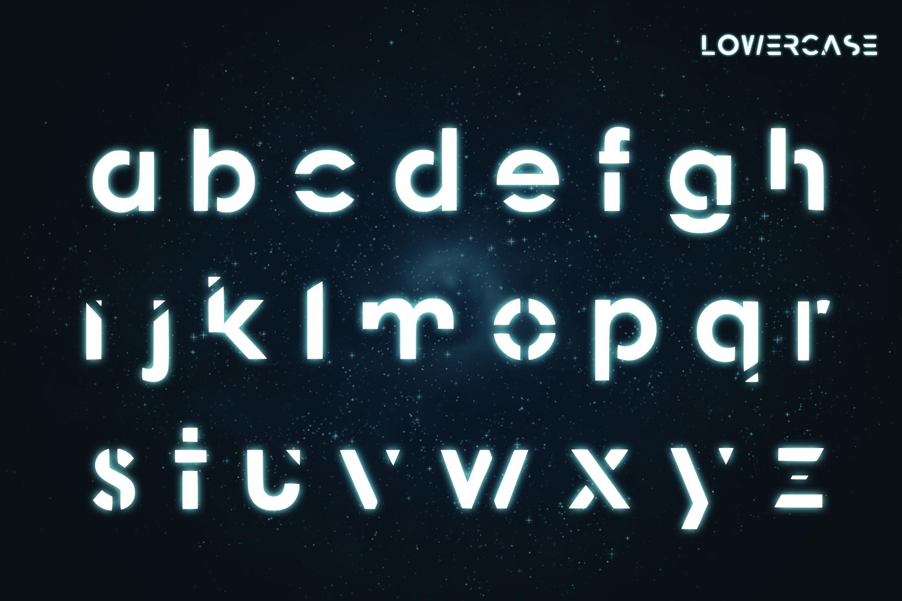 APHILION - A Futuristic Typeface example image 3