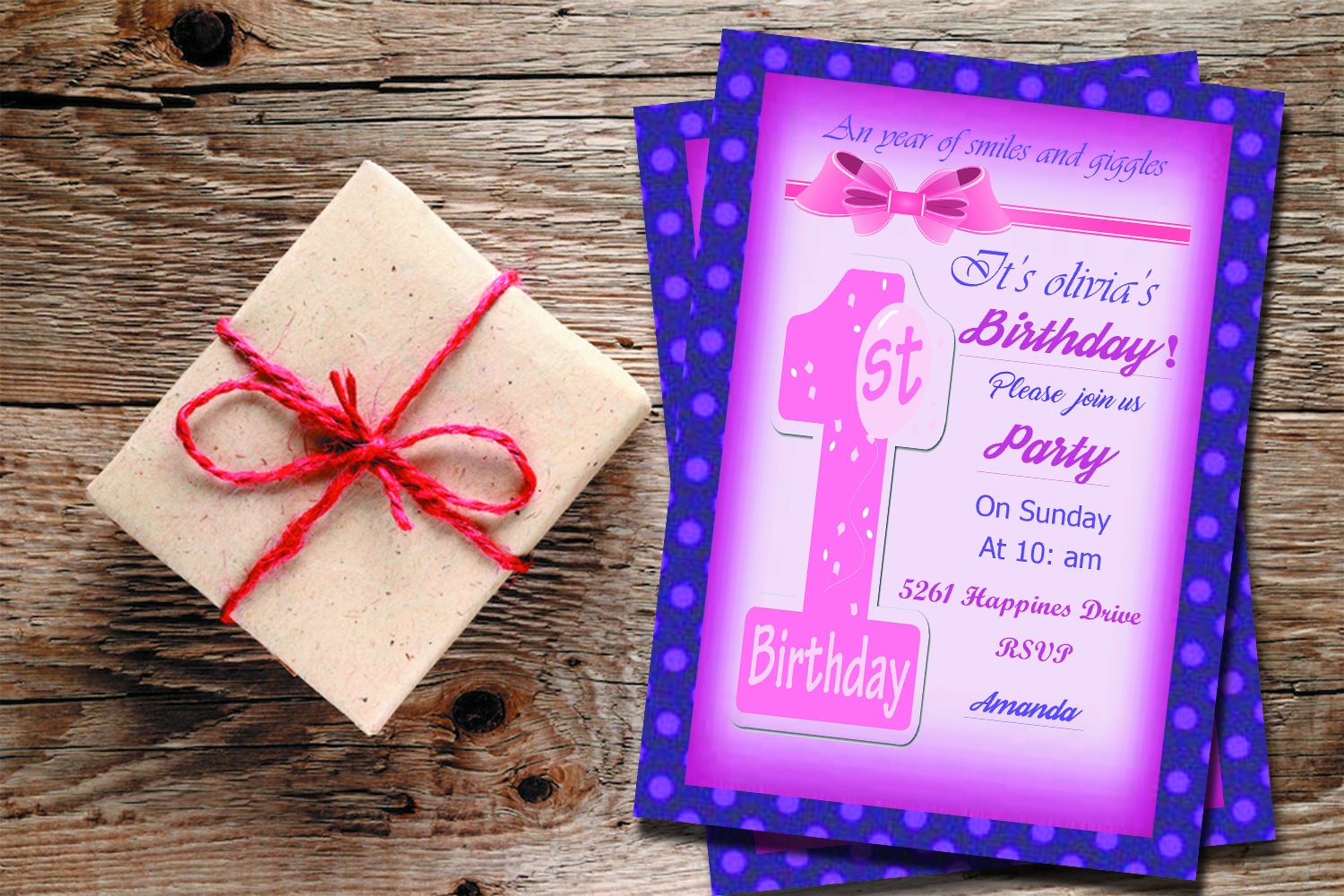 Birthday Invitation example image 1
