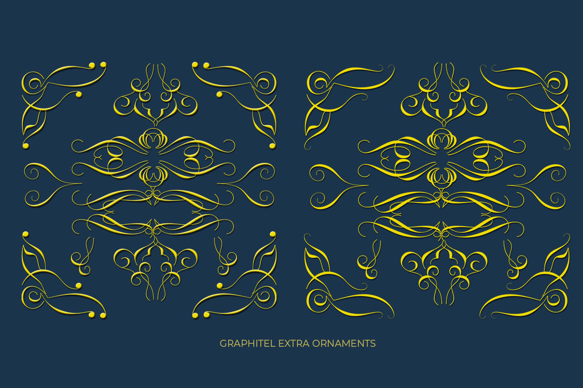 Graphitel Script Plus Ornament example image 12