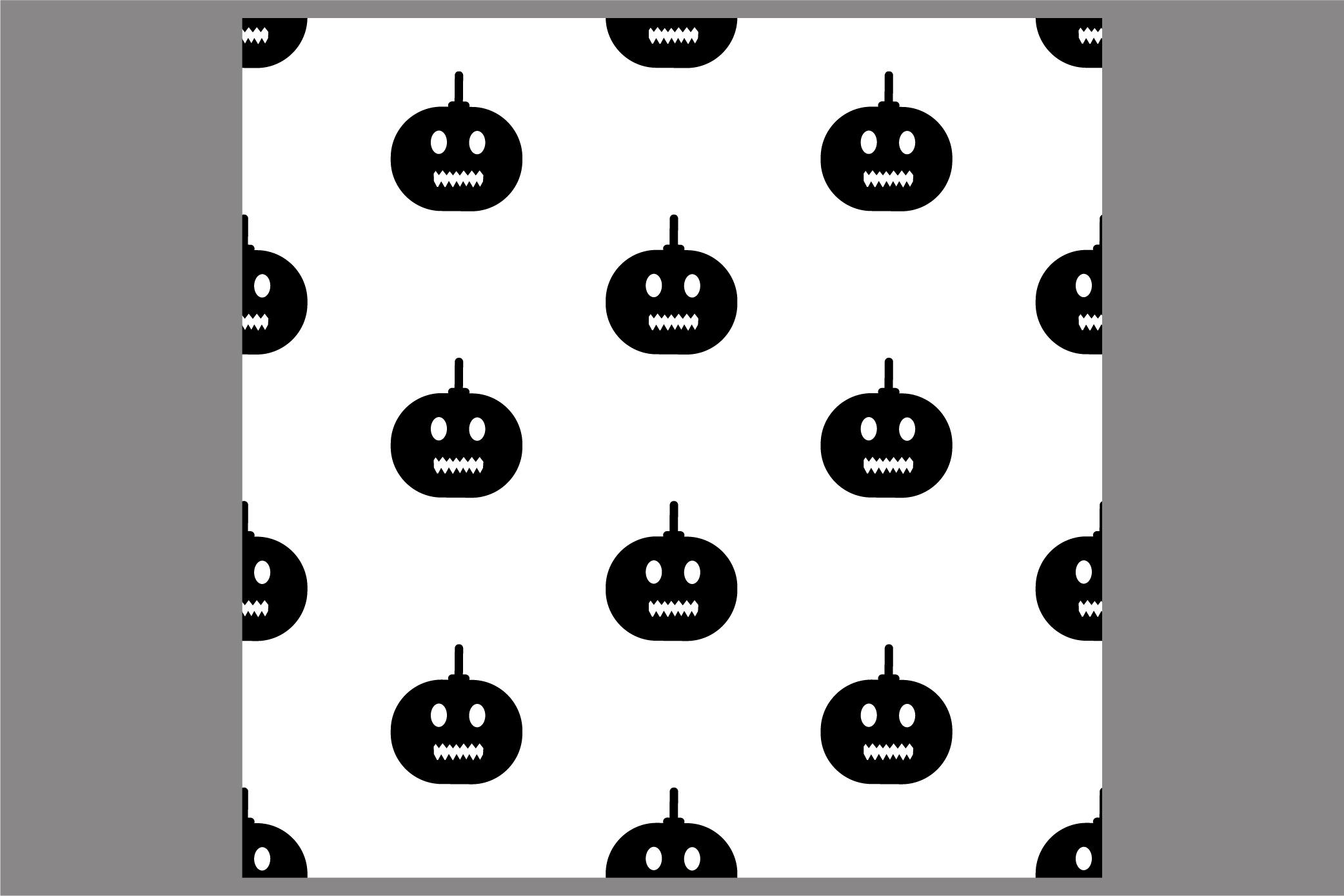 Halloween seamless patterns. Ai, EPS10, JPG, SVG example image 4