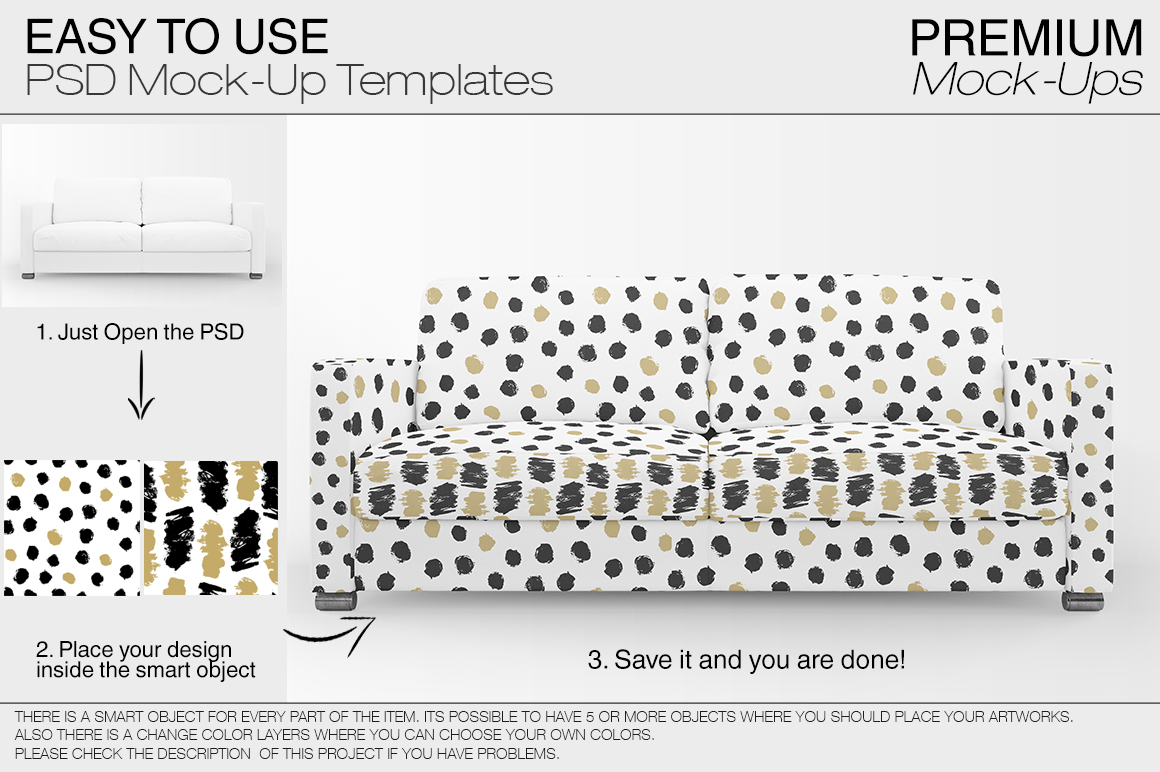Sofa & Pillows Pack example image 4