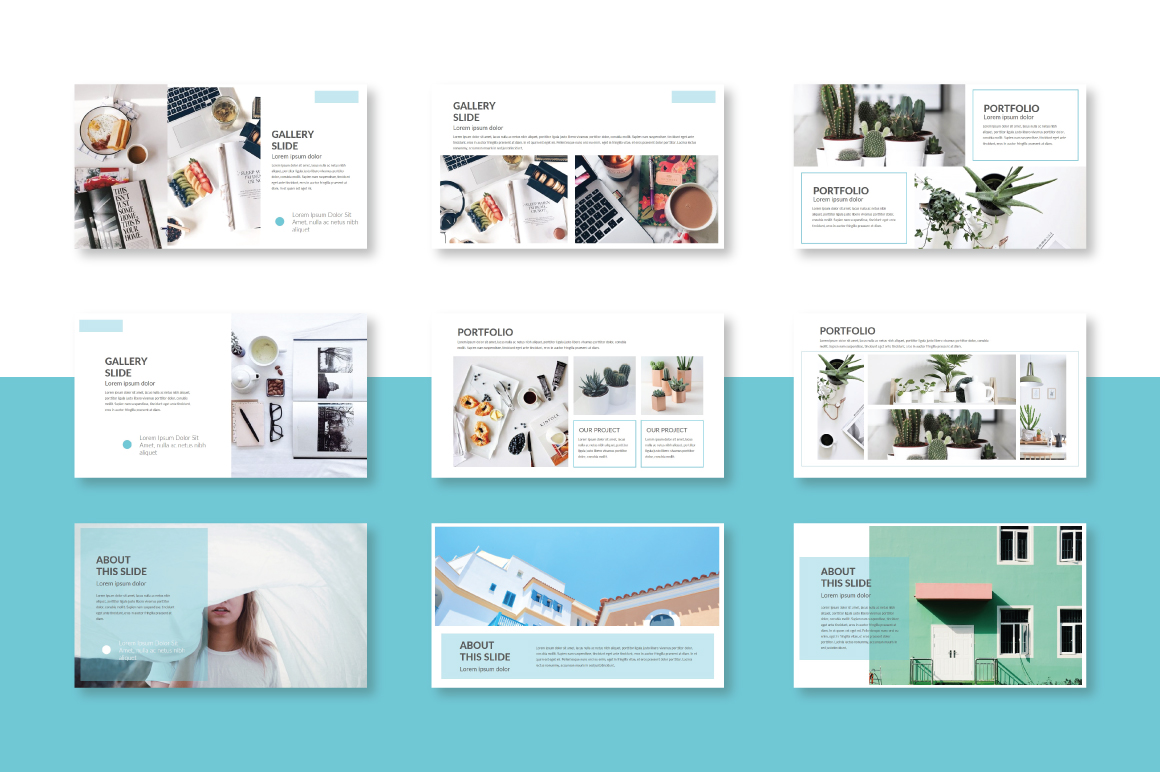 Trace Powerpoint Template example image 3