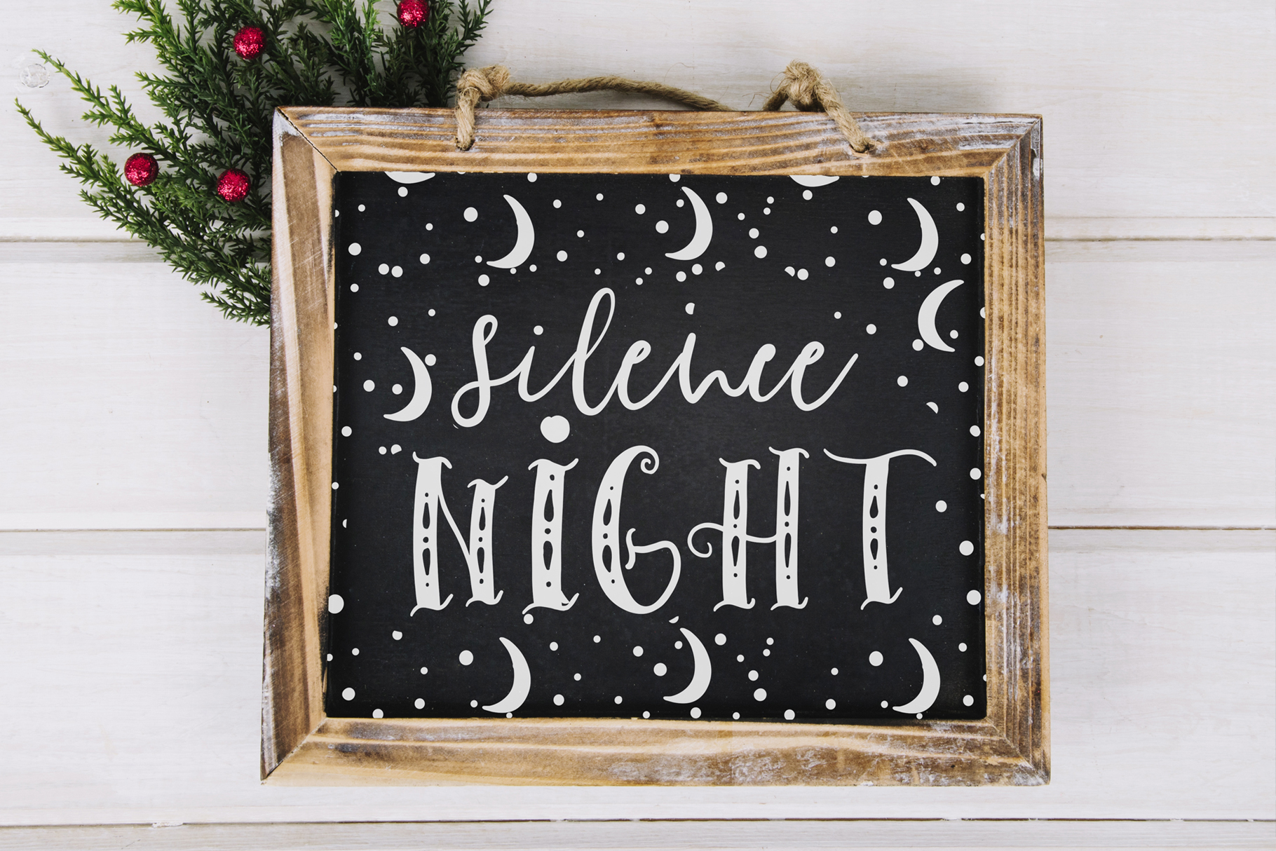 Ho-Ho-Holiday Fonts collection example image 4
