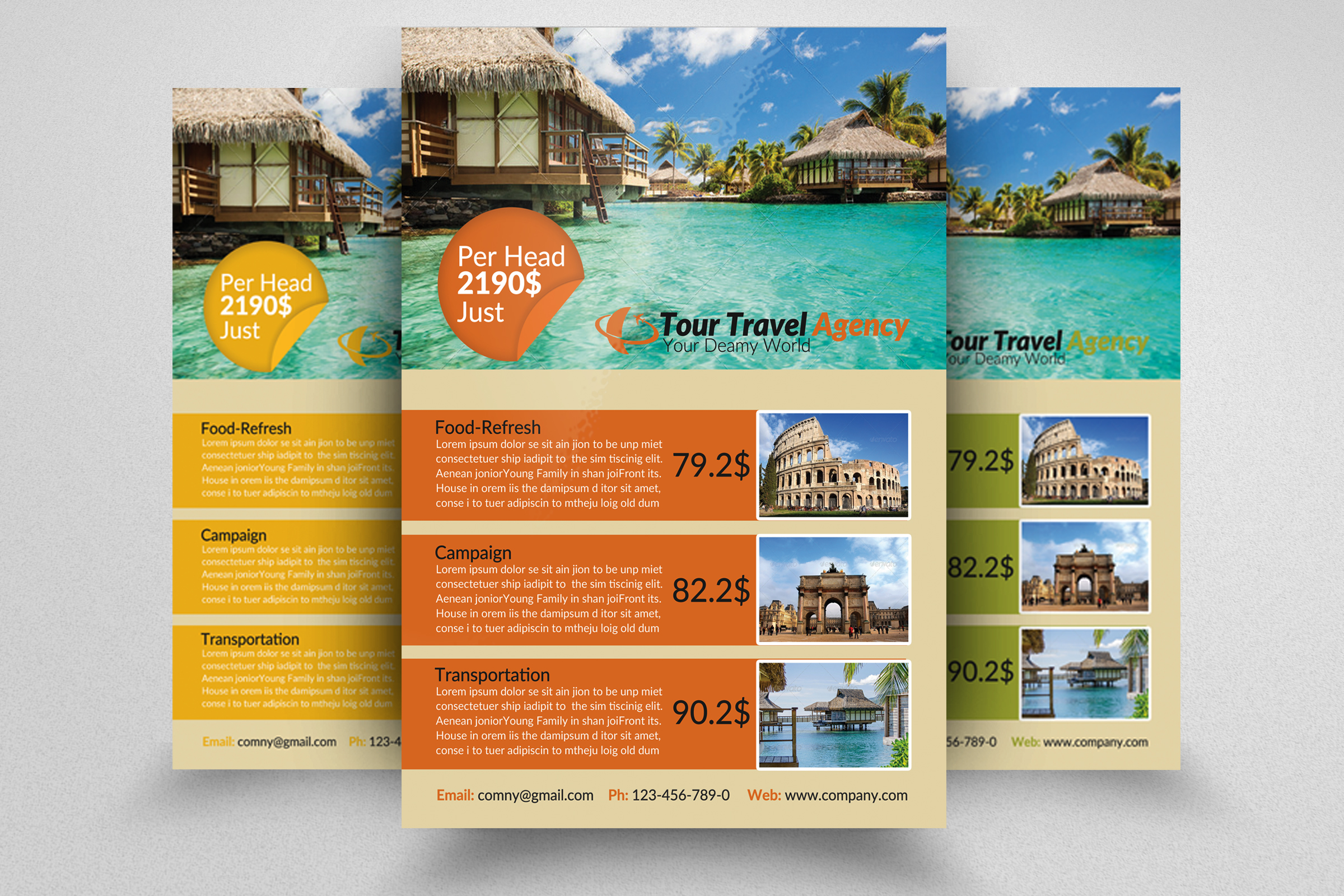 Travel & Tour Flyer example image 1