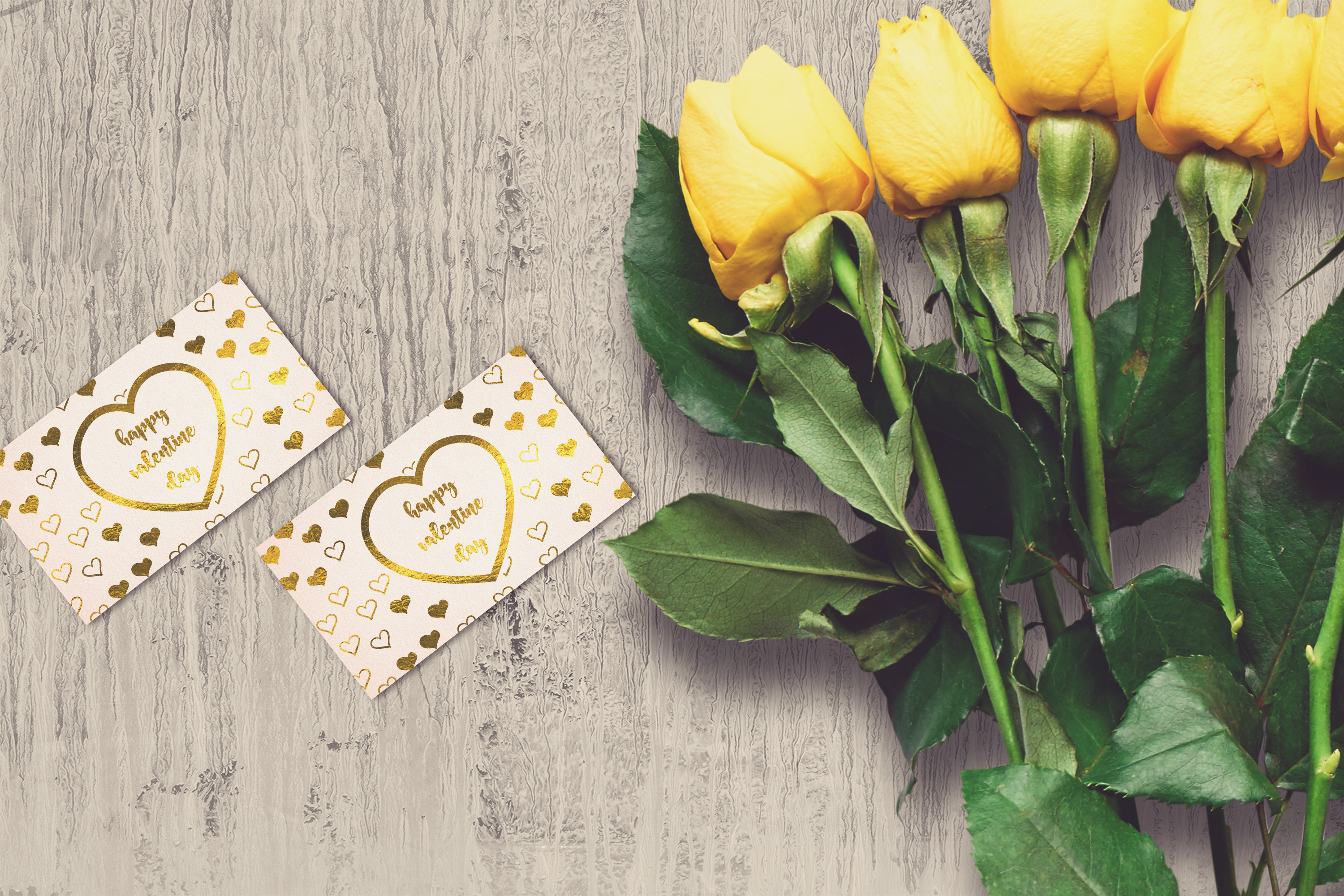 Valentine Card Mock-up #25 example image 1