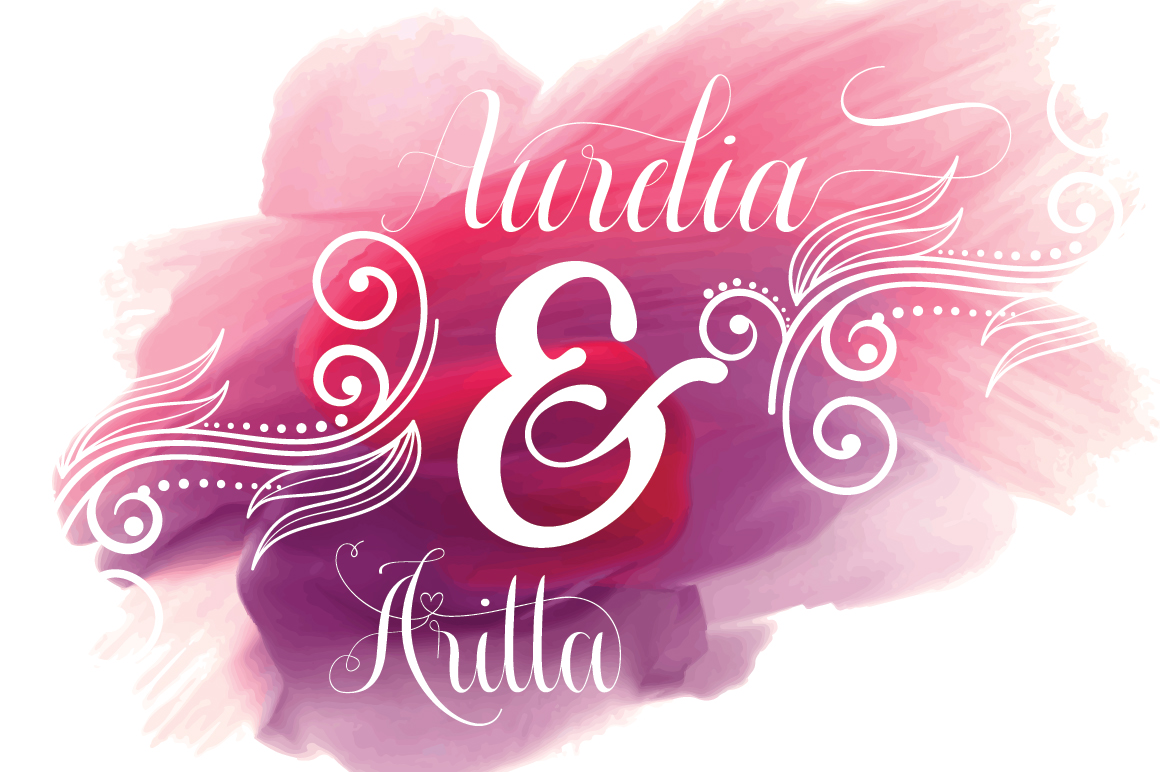 Aurelia font duo example image 1