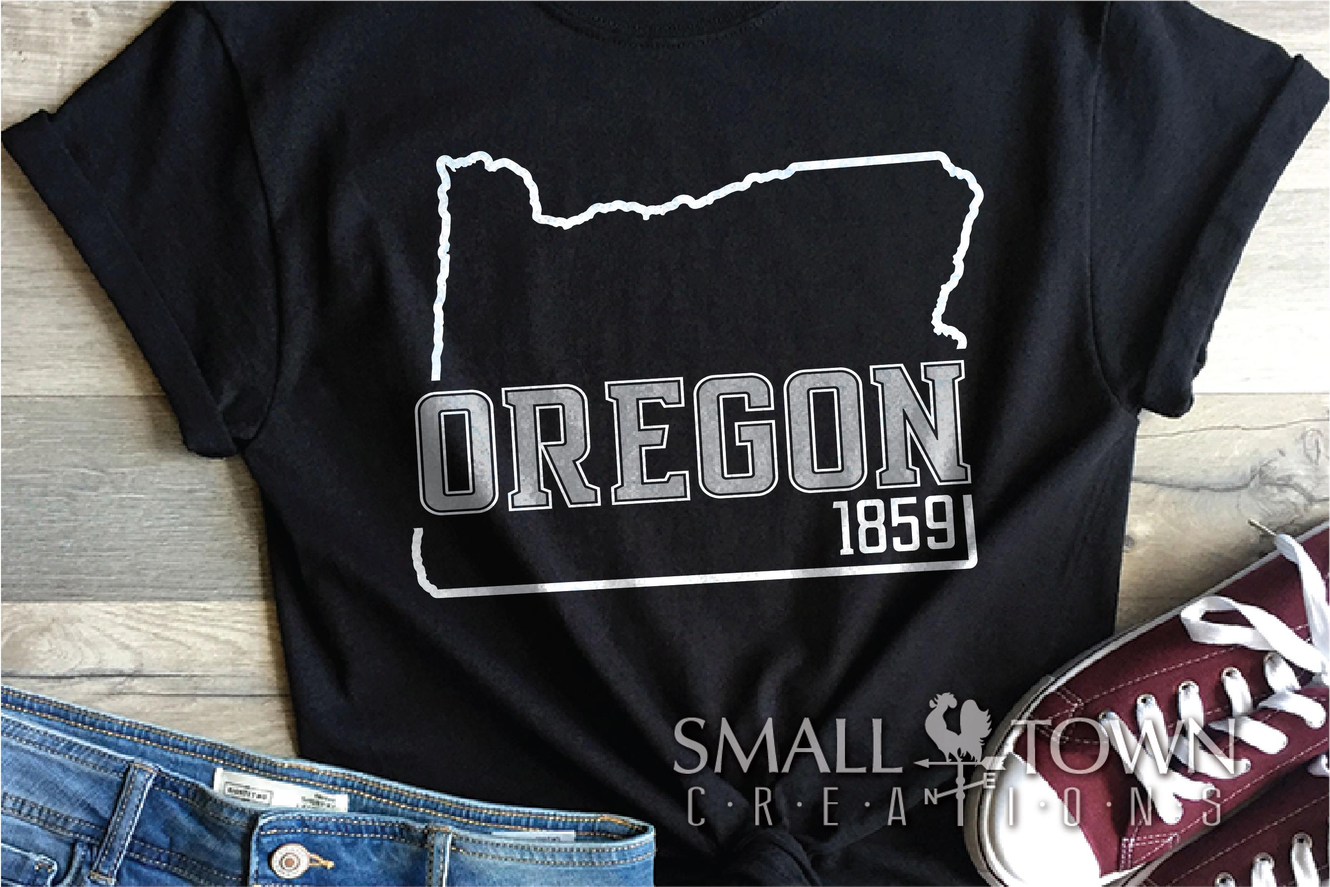 Oregon, Pacific Wonderland - slogan, PRINT, CUT & DESIGN example image 8