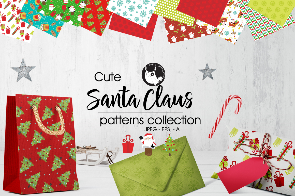 santa-claus princedigital papers example image 1