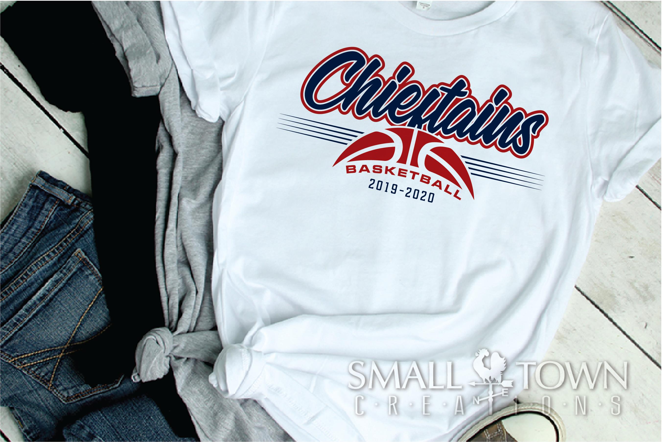 Chieftain, Basketball, Sport, Design, PRINT, CUT, DESIGN example image 2