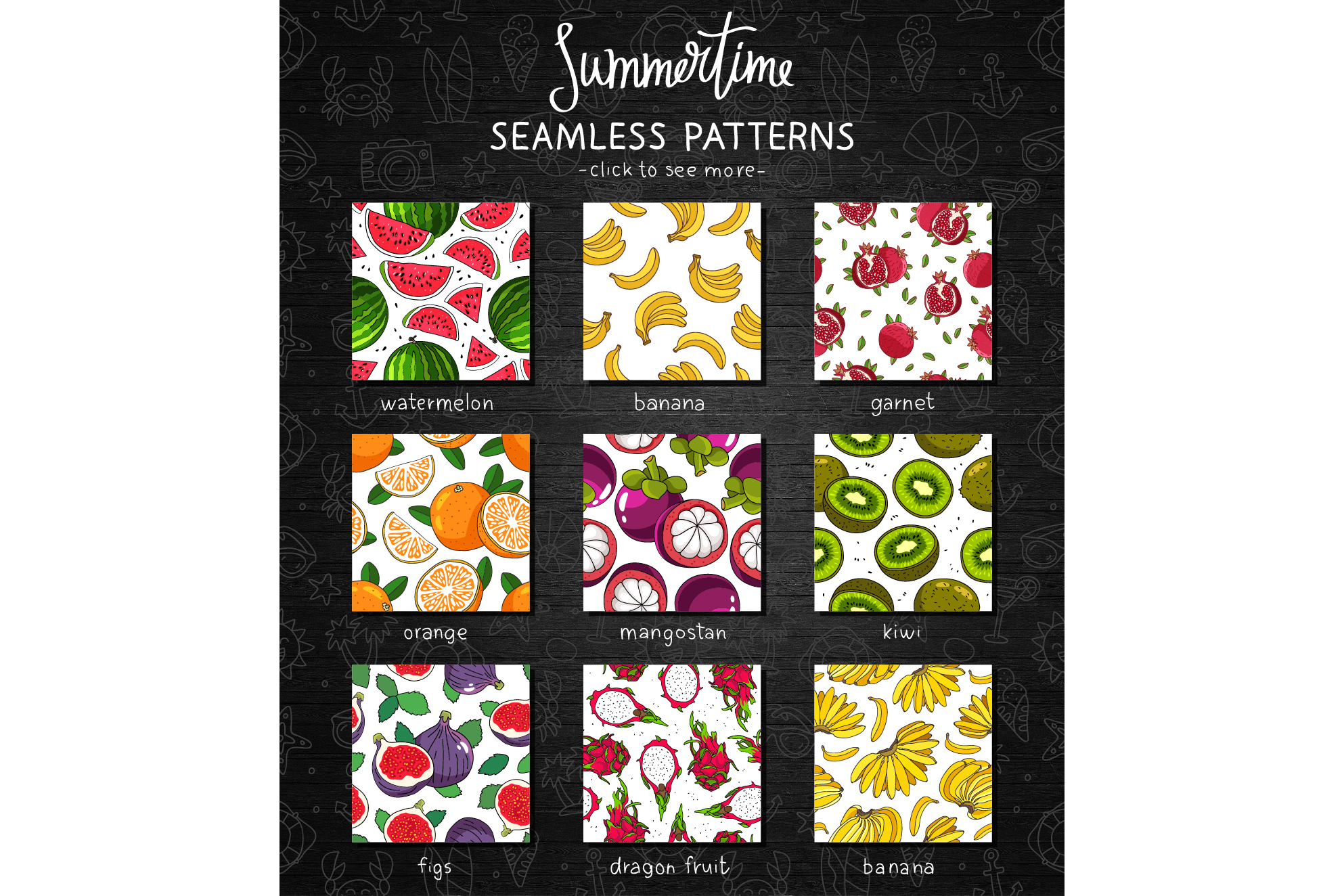 Summertime. Fruit Mix example image 2