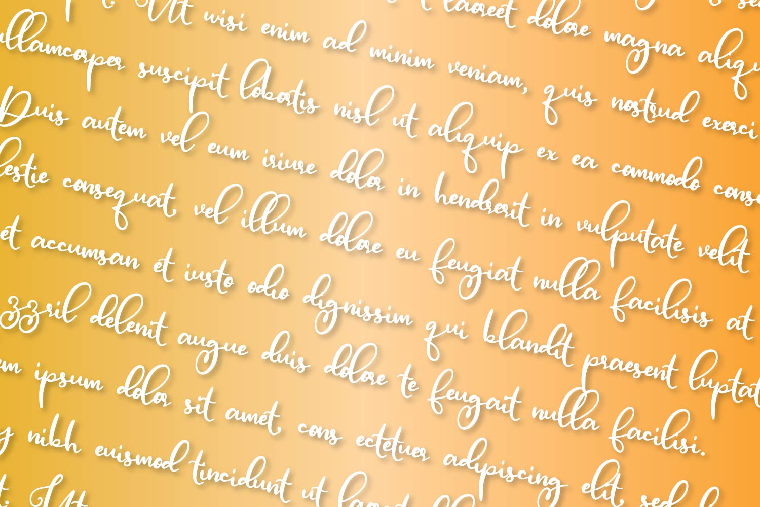Blanely - A Script & Print Font Duo - Font Pair example image 9
