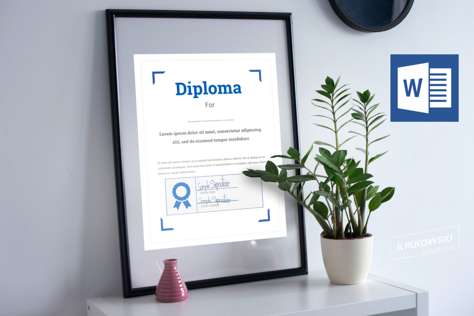 10 Diploma Templates .doc Bundle Pack 50 off example image 6