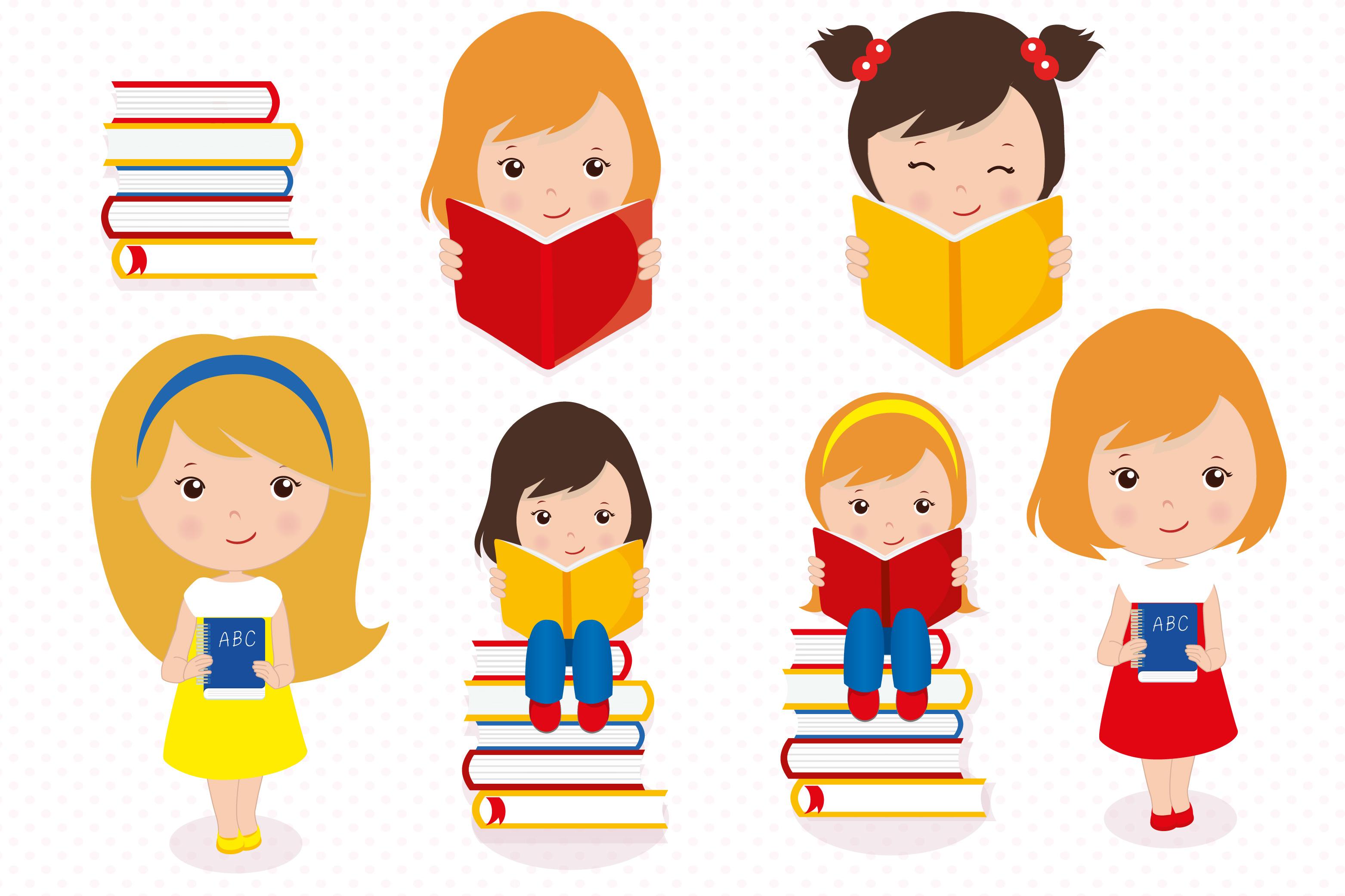 Hello school graphics, School digital papers example image 4
