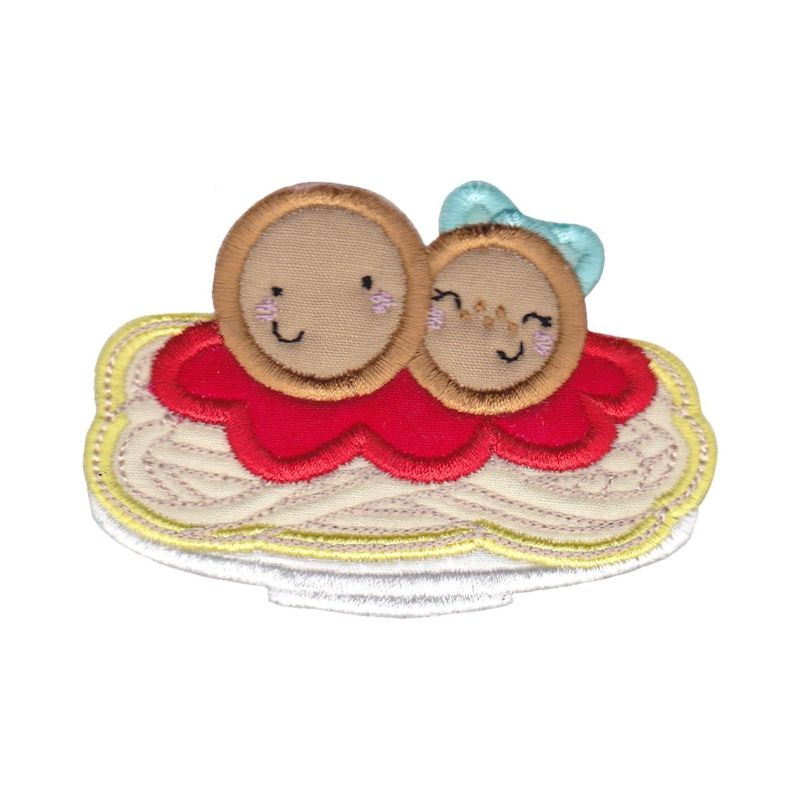 Food Duos Applique - 12 Machine Embroidery Designs example image 5