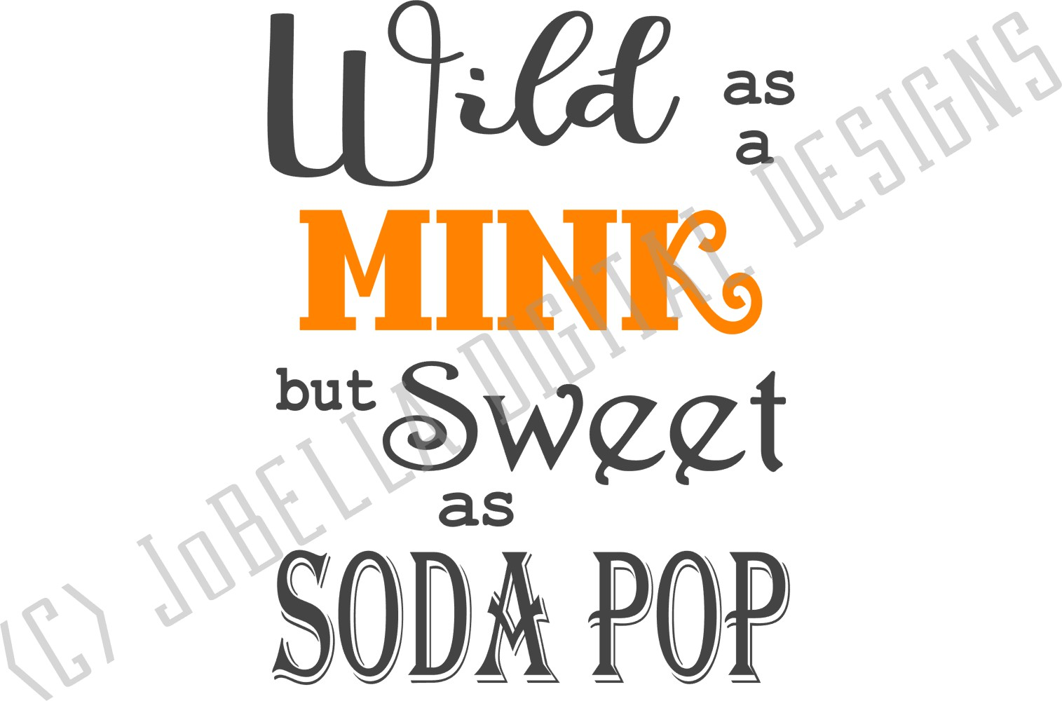 Tennessee SVG and Printable- Wild As A Mink But Sweet... example image 4