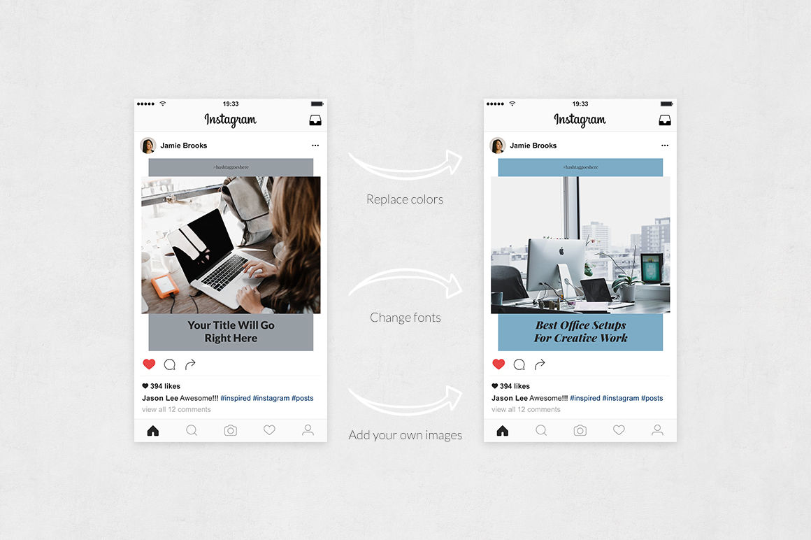 Office Instagram Posts example image 5