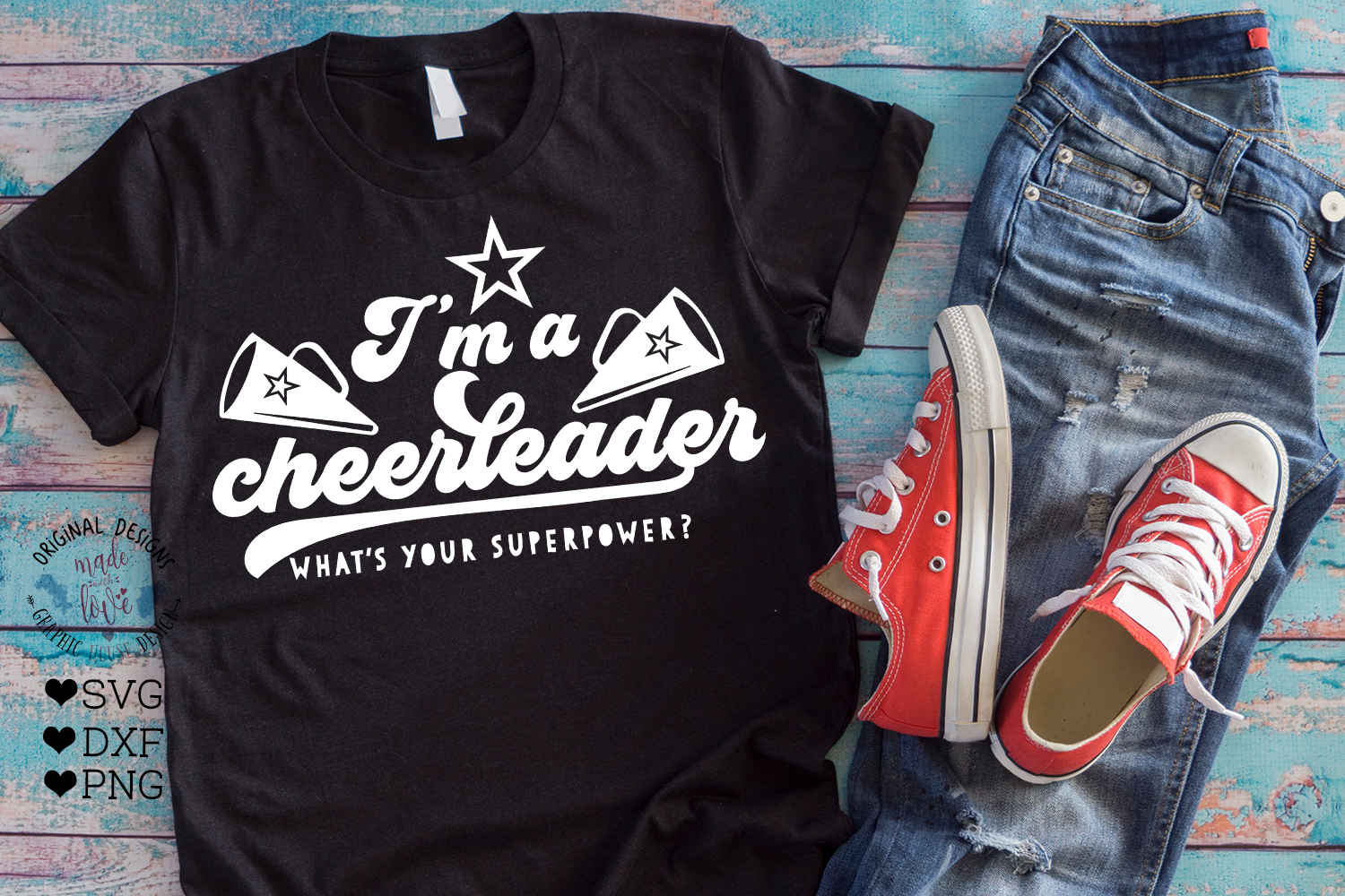 Cheerleader SVG - I'm a Cheerleader, What's your Superpower example image 2