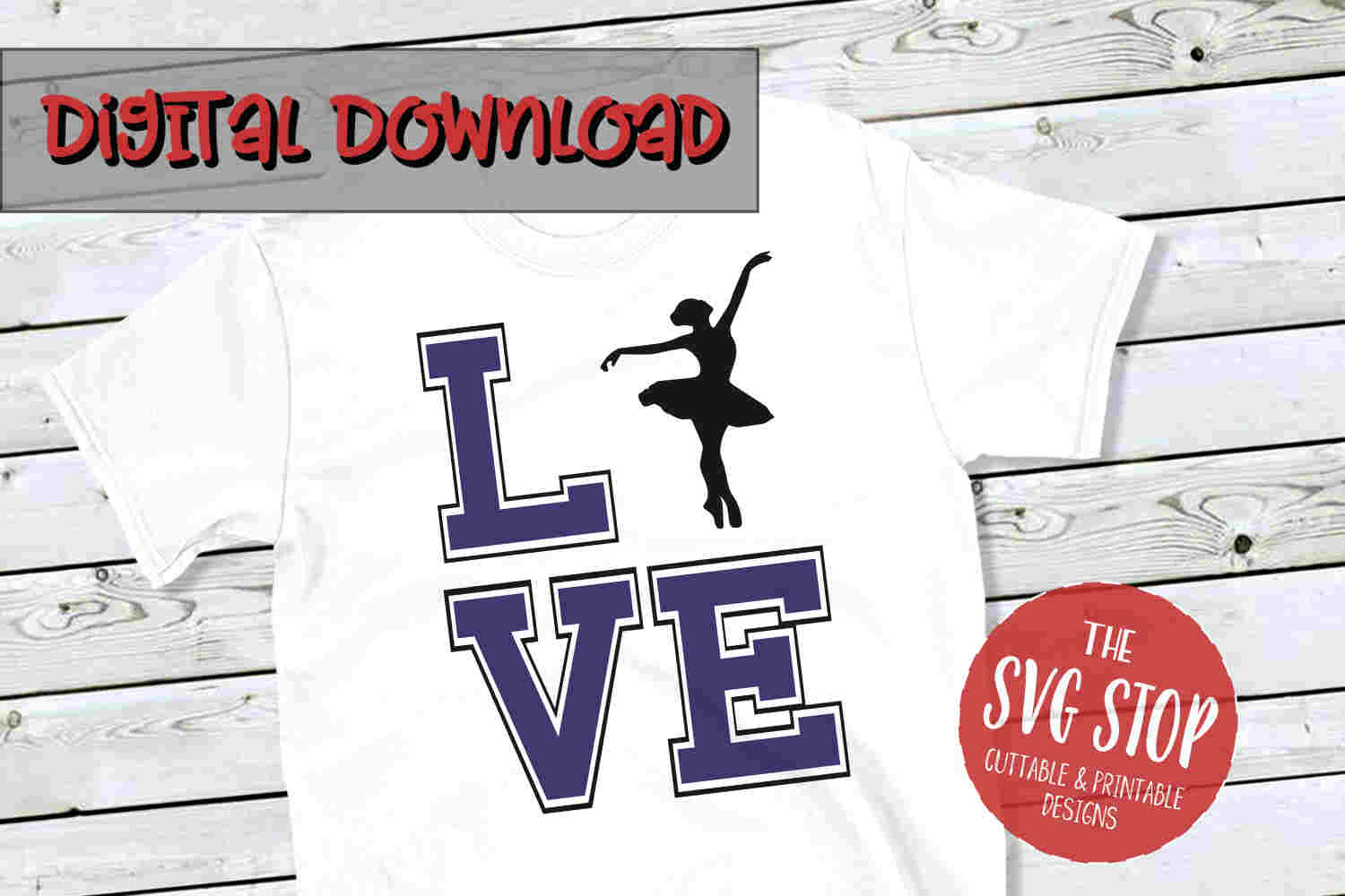 Love Dance -SVG, PNG, DXF example image 1