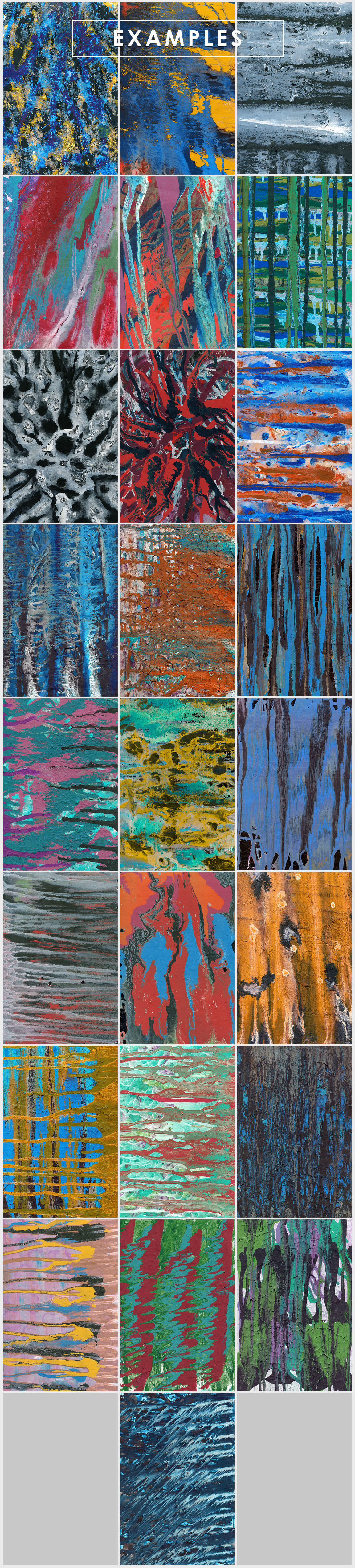 Abstract Paint Backgrounds Vol.4 example image 6