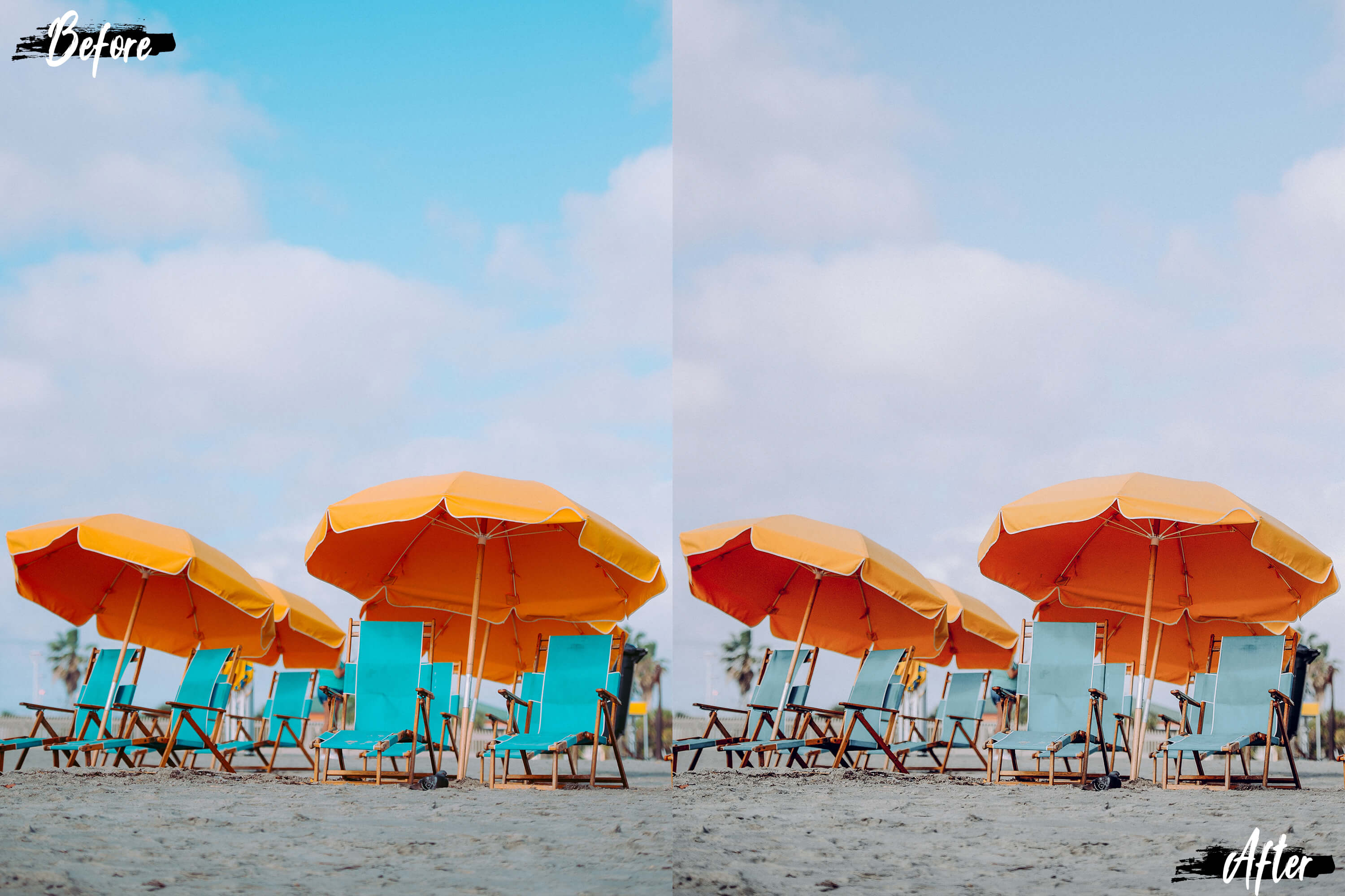 Neo Languid Blue Theme Color Grading photoshop actions example image 9