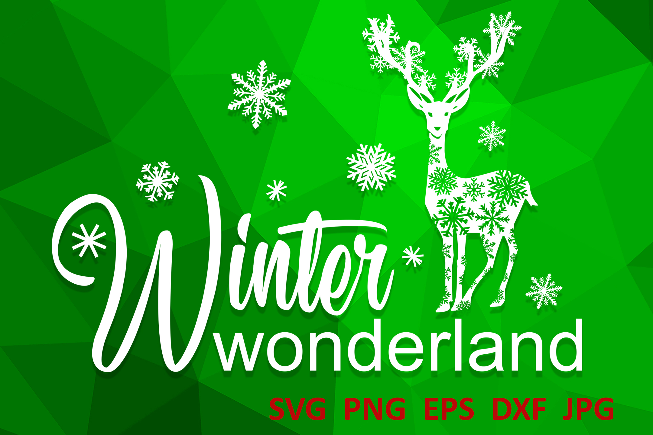 Christmas svg Winter wonderland svg Winter svg Snowflake svg example image 1