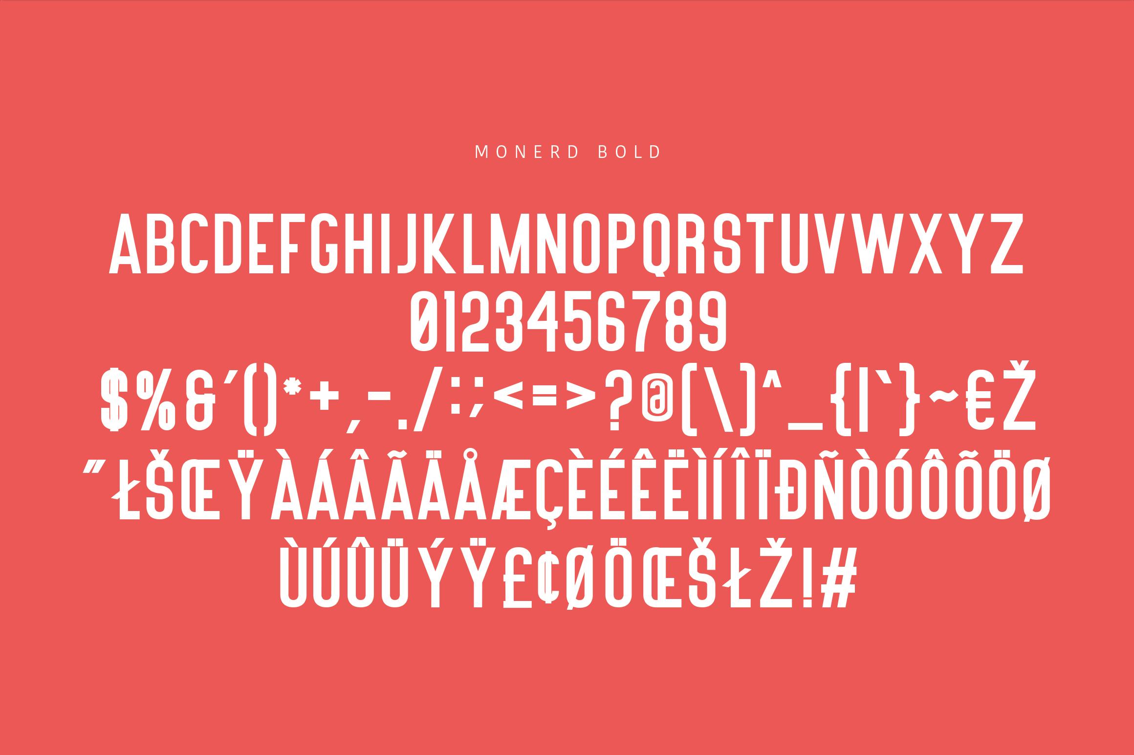 Monerd - Simply Sans Serif example image 11