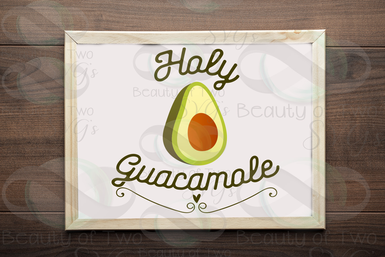 Holy Guacamole svg & png, Cinco de Mayo svg, Avocado svg example image 1