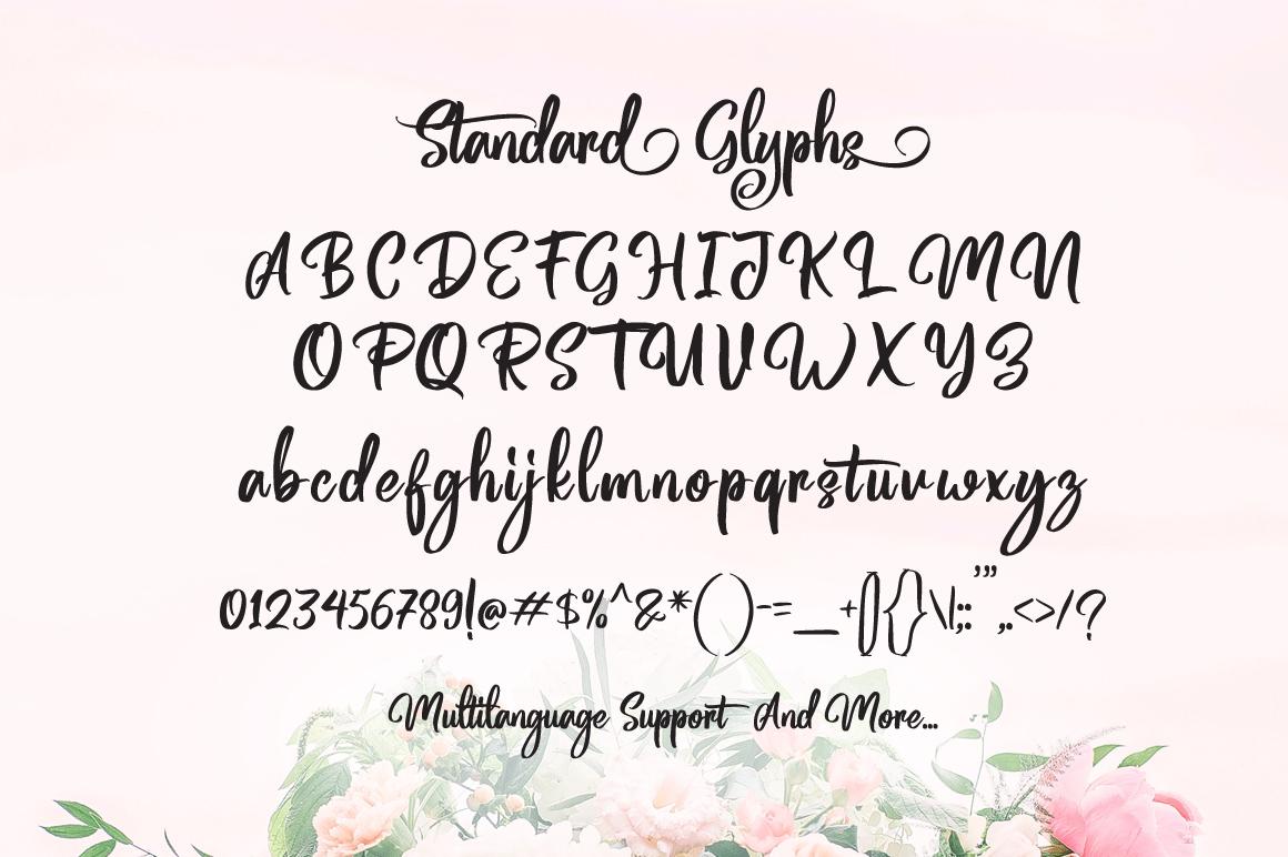Magentasia - Handwritten Font example image 7
