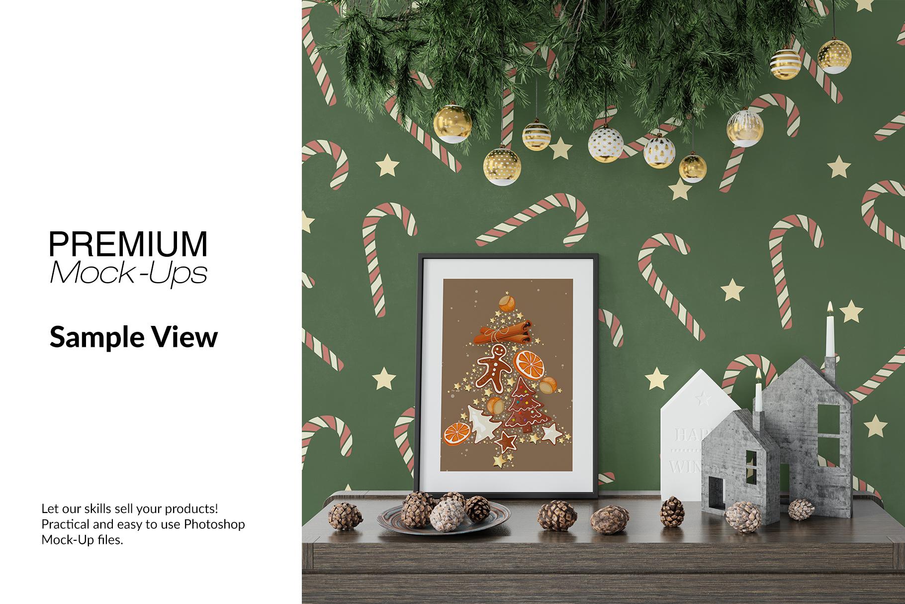 Christmas Frames & Wall Set example image 8