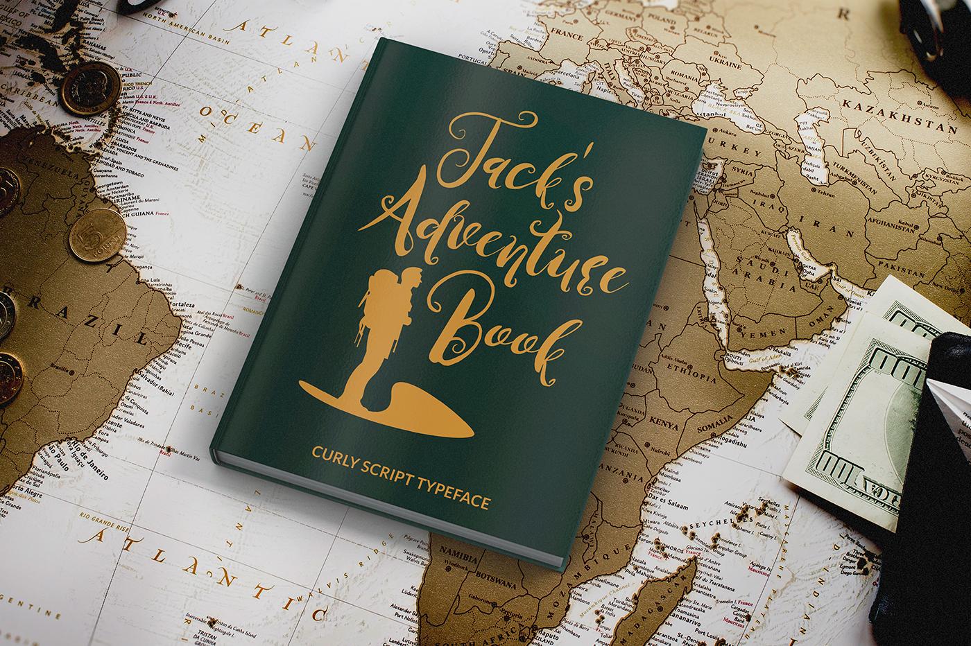 Jack's adventure book example image 8