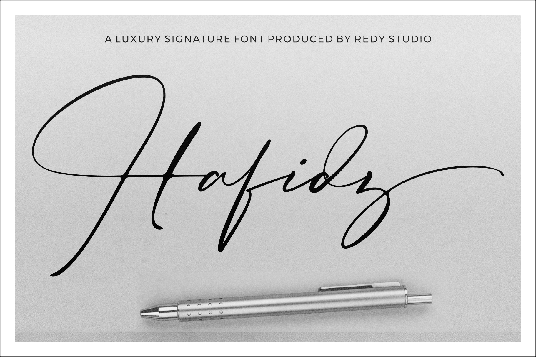 Hafidz | Luxury Signature Font example image 1