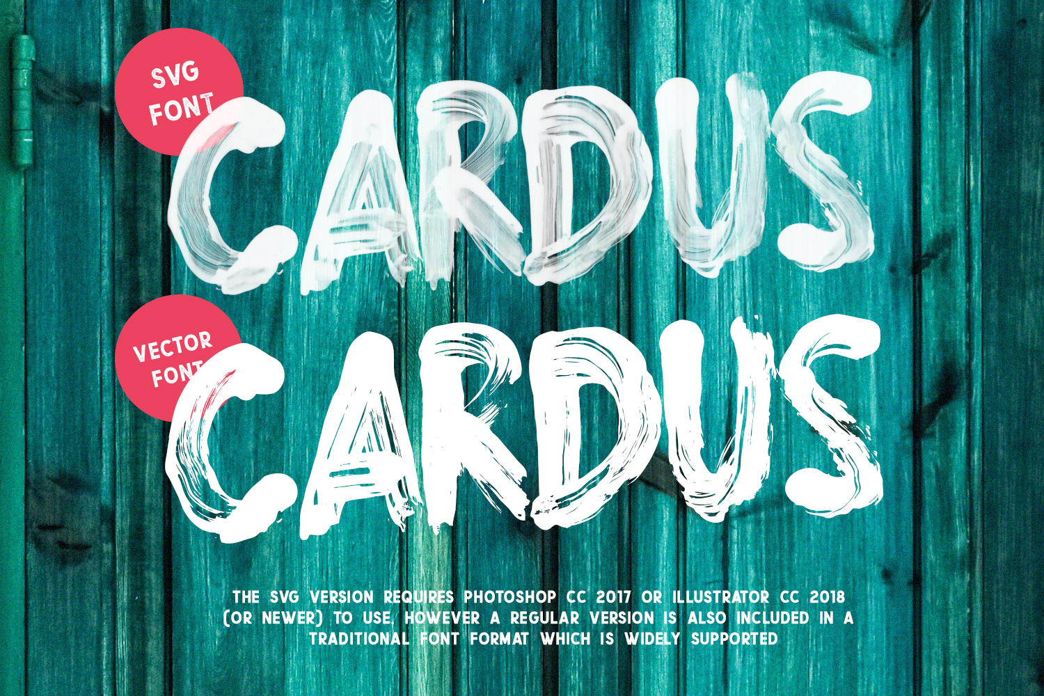 Cardus Brush SVG Font example image 5
