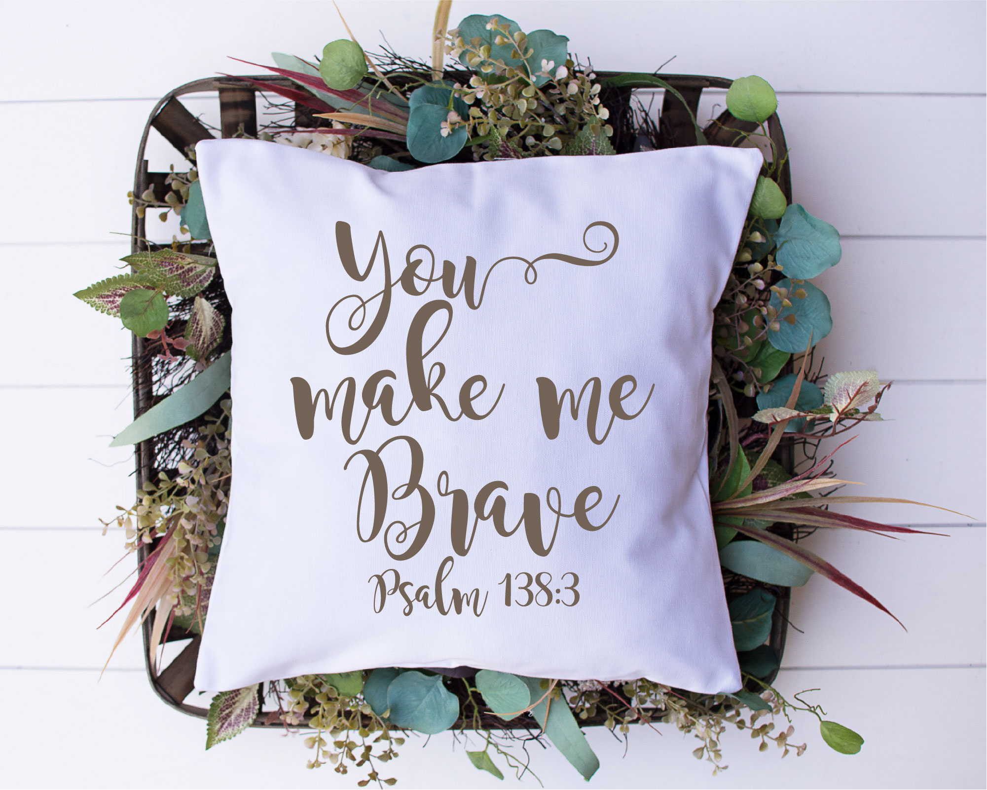 You Make Me Brave SVG, Courageous Sublimation,PNG example image 2