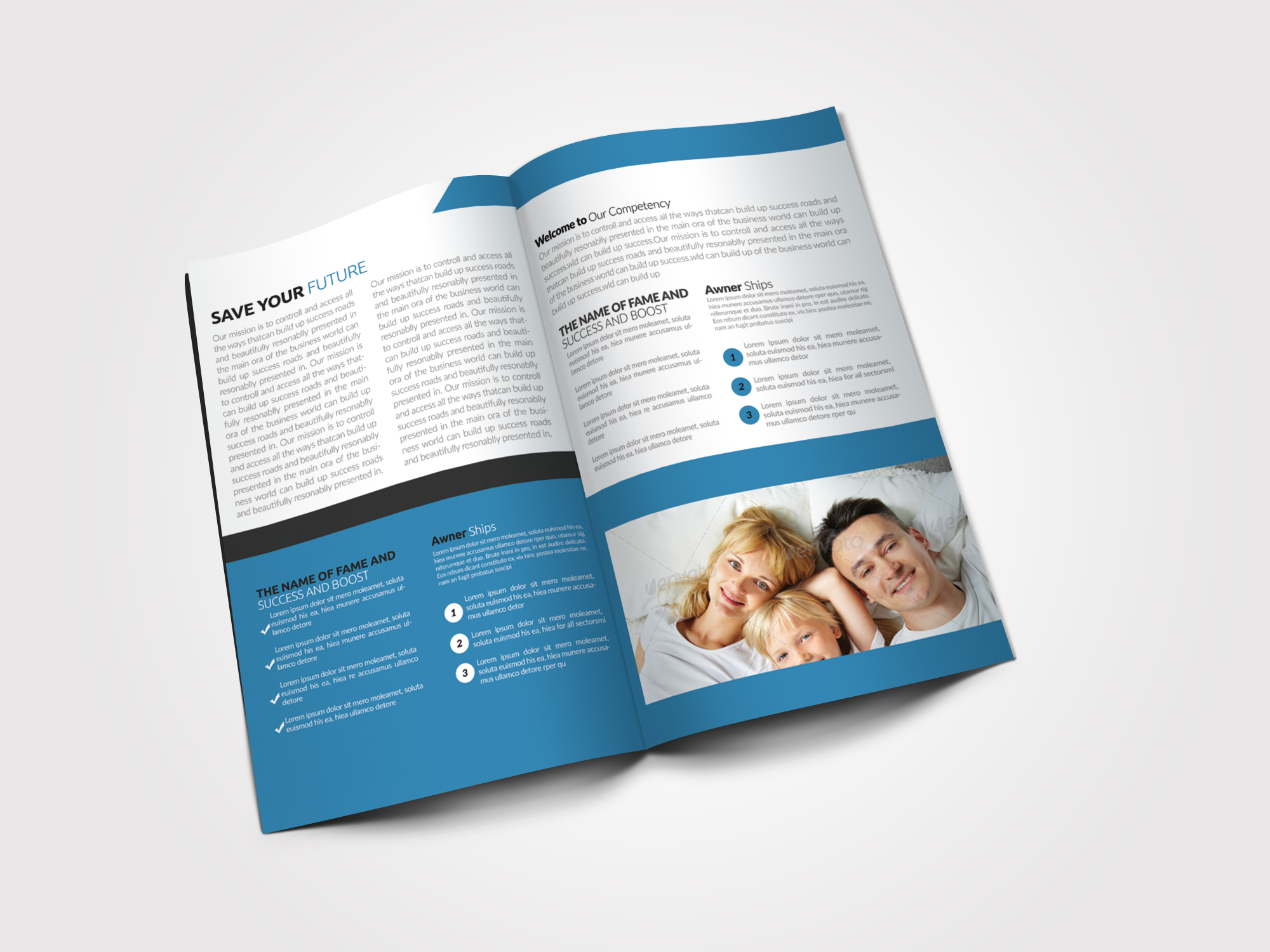 Business Solution Bifold Brochures example image 4