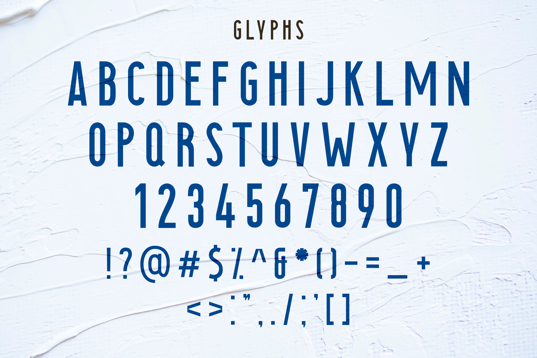 Searocks | A clean condensed font example image 5