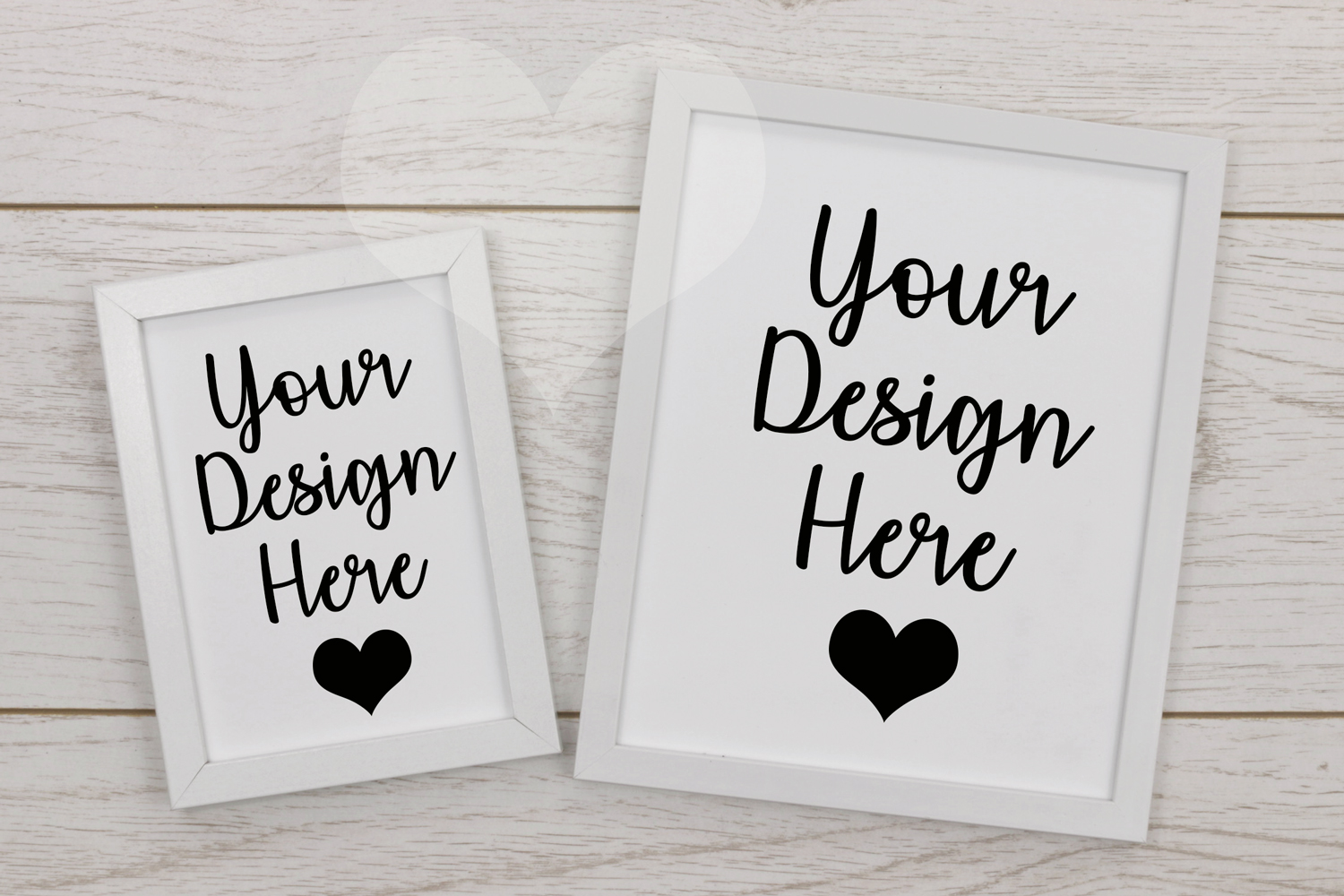 Styled Frame Mockup, White Frame Mockup, Styled Stock Photo example image 1