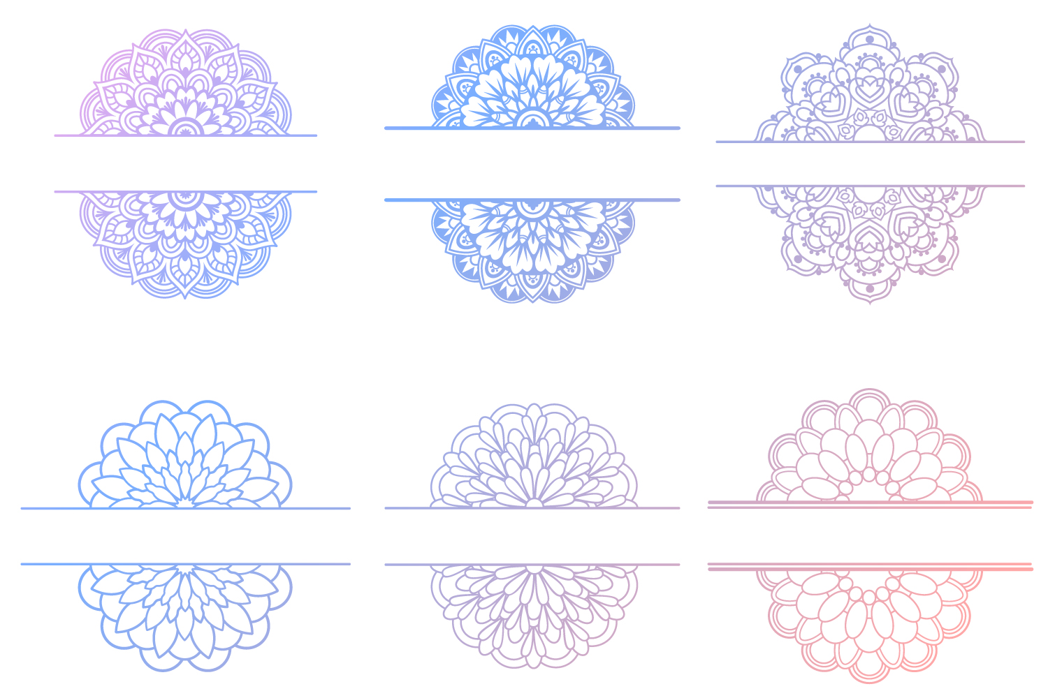 Mandala SVG Files Bundle - 40 Cut Files example image 7