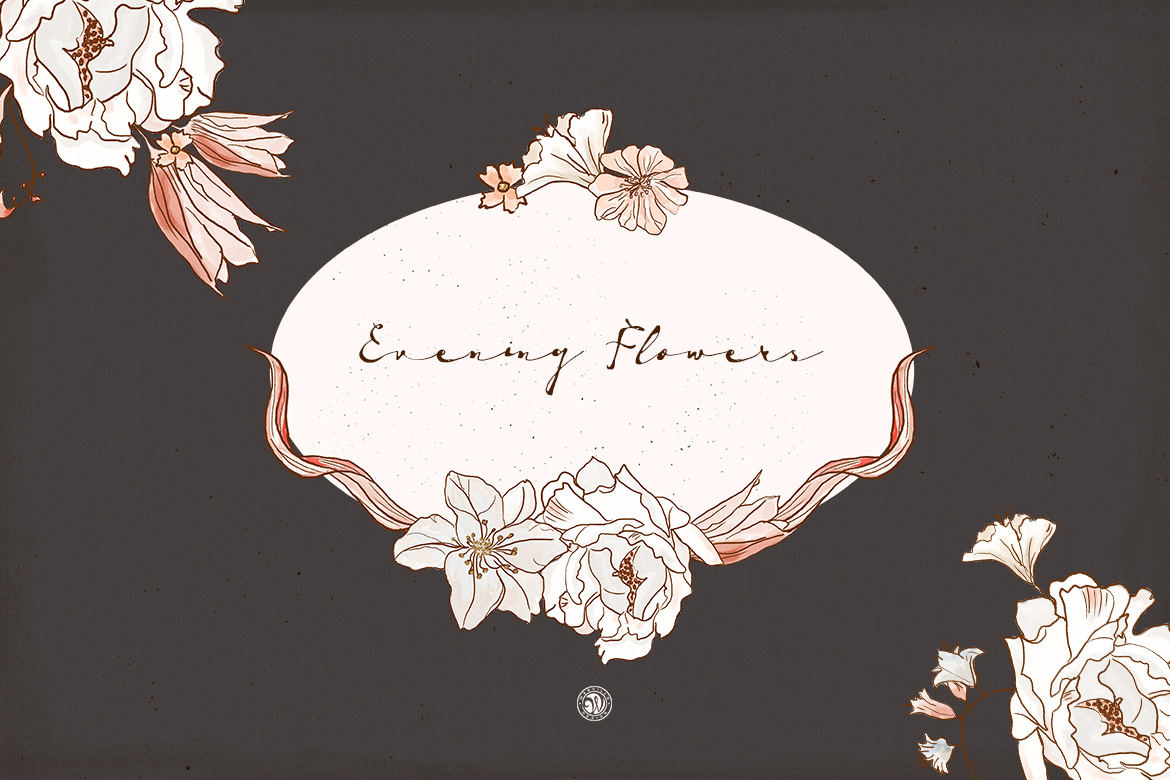 Evening Flowers example image 3