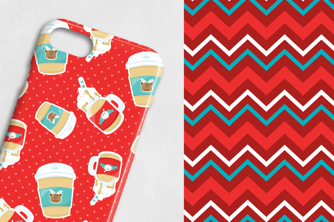 CHRISTMAS-TREATS , digital papers example image 2